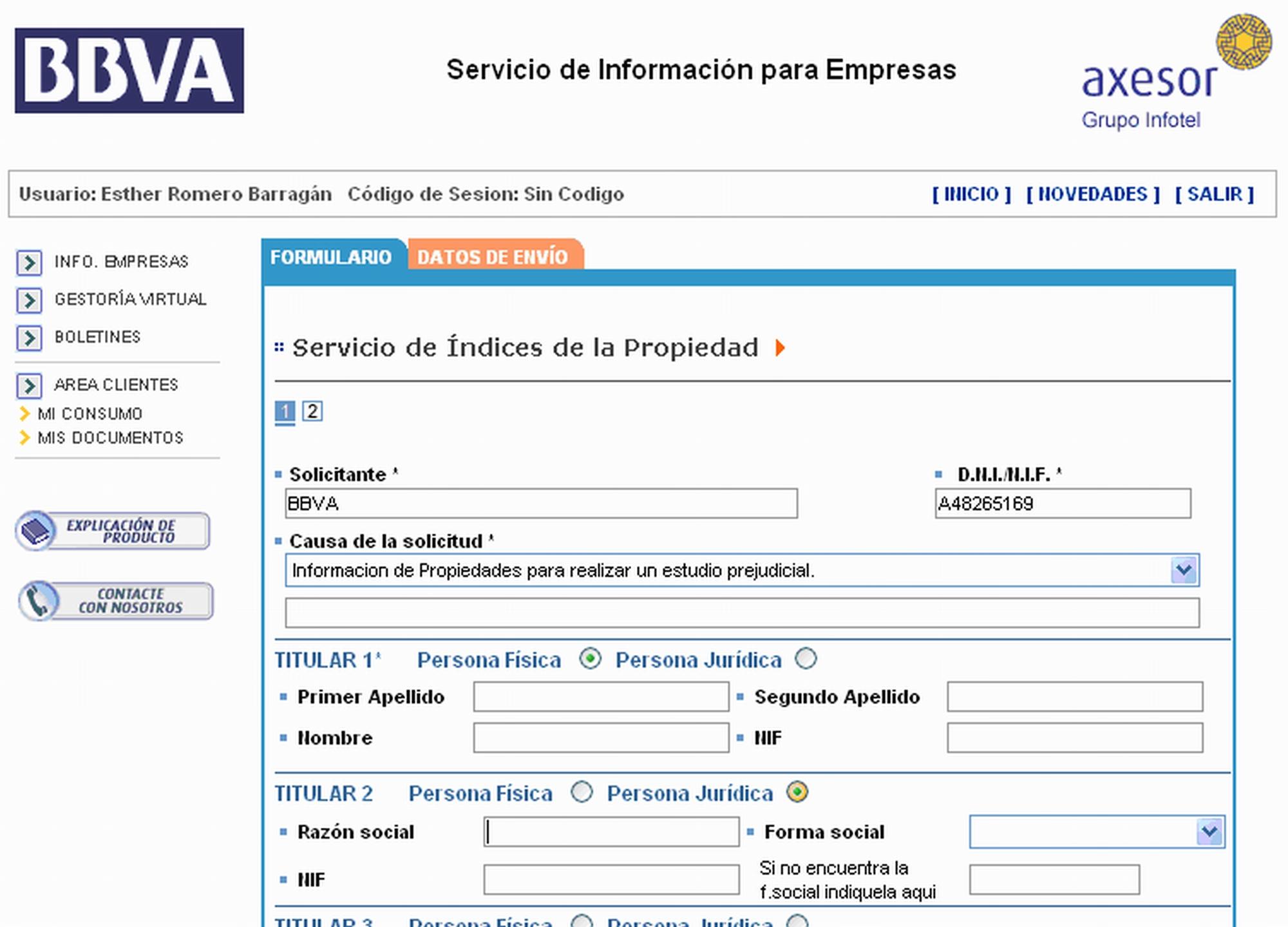 Registro propiedad - Solicitar nota simple registro propiedad gratis ...